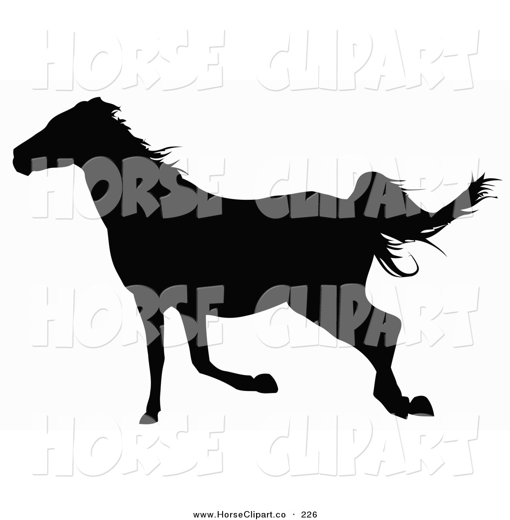 Horse running clipart - photo#23