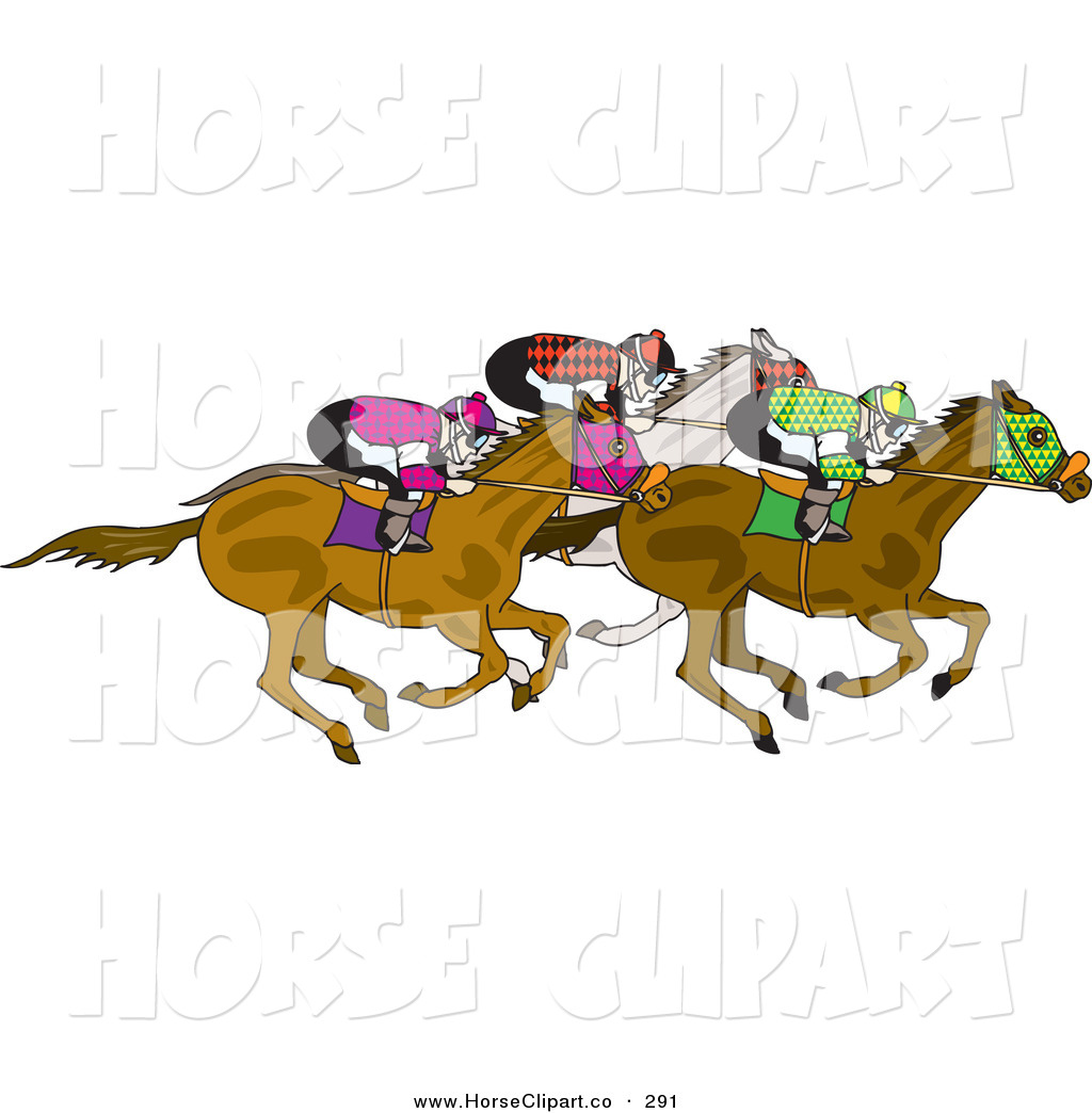 Their Horses White Horse Clip Art Dennis Holmes Designs