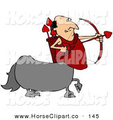 September 8th, 2012: Clip Art of a Caucasian Cupid Centaur Man Shooting Red Heart Valentine's Day ArrowsCaucasian Cupid Centaur Man Shooting Red Heart Valentine's Day Arrows by Djart