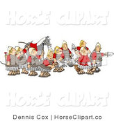 Clip Art of a Roman Army in Uniform by Djart