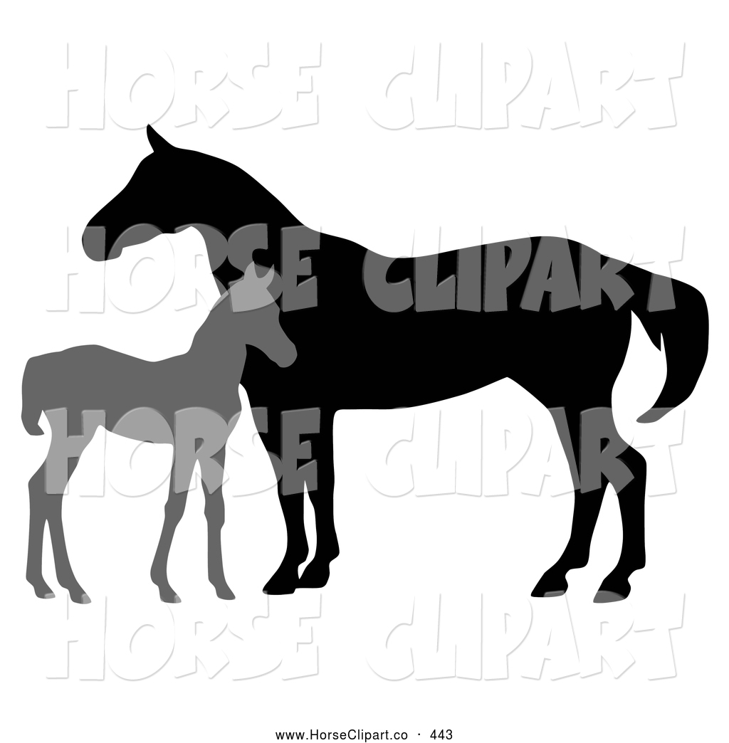 Horse clipart new stock horse designs by some of the for Clipart mare